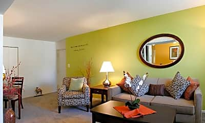 Living Room, Meadow Creek Apartments, 1