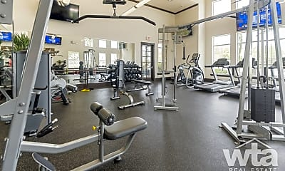 Fitness Weight Room, 8600 Highway 71 West, 2