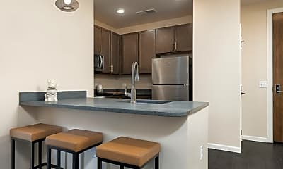Kitchen, The Marshall Student Living, 0