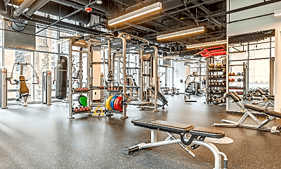 Fitness Weight Room, 800 S Michigan Ave, 2