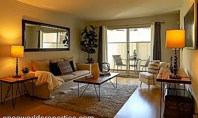 Living Room, 407 Orange Street, Unit 102, 0