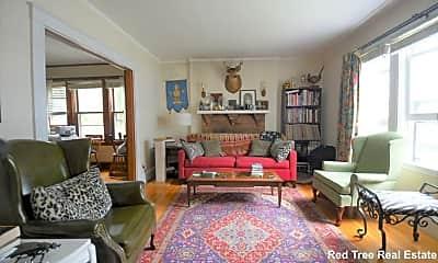 Living Room, 31 Linden St, 1