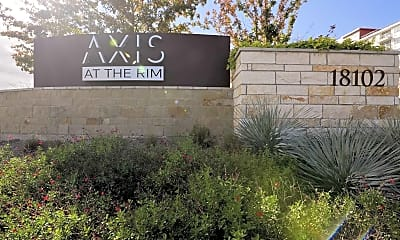 Community Signage, Axis at the RIM, 2