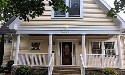 Building, 7707 N Fiske Ave., 1