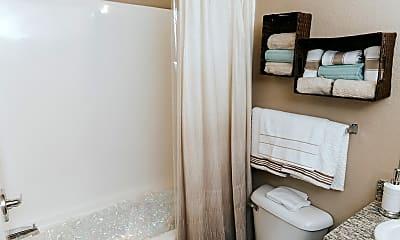 Bathroom, Belmere Luxury Apartments, 2