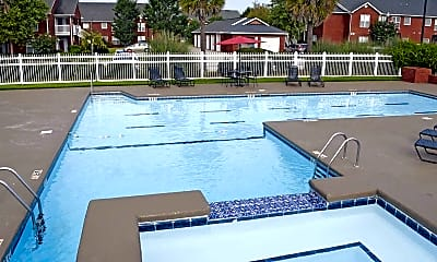 Pool, Lenox Park Luxury Apartment Community, 1