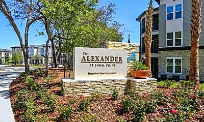 Community Signage, Alexander at Sabal Point, 2