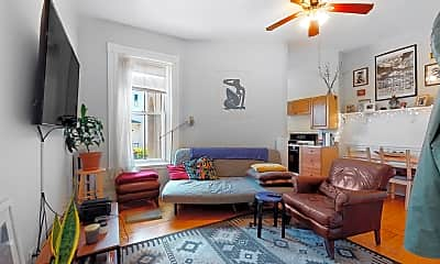 Living Room, 124 Summer St #2, 2
