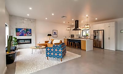 Living Room, 8250 E Rockgate Rd, 1