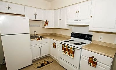 Kitchen, Spring Gardens Apartments, 1