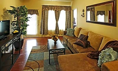 Living Room, Independence Place in Killeen, 1