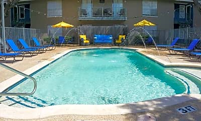 Pool, East Town Apartments, 0