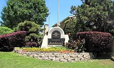 Community Signage, Parks at Addison, 2
