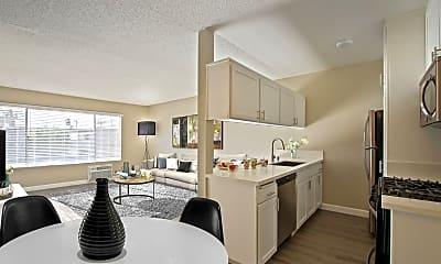 Kitchen, Magnolia Apartments, 1