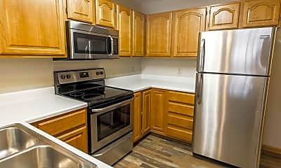 Kitchen, Pebble Springs Apartments, 1