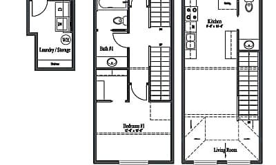 Bedroom, 120 E 17th Ave, 2
