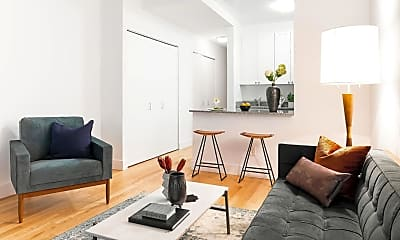 Living Room, 45 Wall St 421, 1