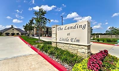 Landing at Little Elm, 2