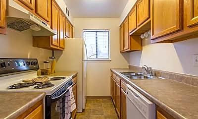 Kitchen, Crossroads Apartments, 1