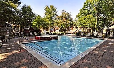 Pool, Thornbury at Chase Oaks, 1