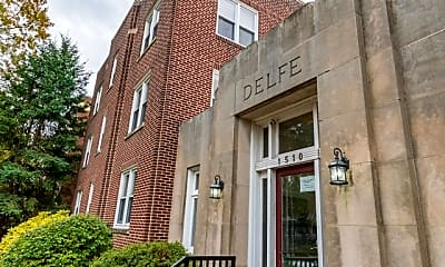 Building, Delfe Apartments At Trolley Square, 0