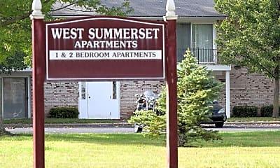 Community Signage, West Summerset Apartments, 1
