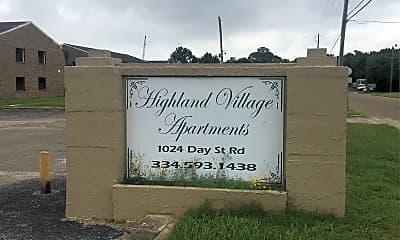 Highland Village Apartments, 1