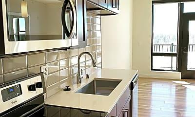 Kitchen, Statesman Apartments, 0