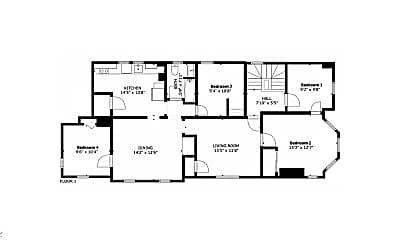 Bedroom, 288 Meridian St, 2