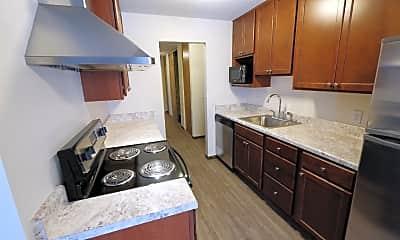 Kitchen, Lakehill Apartment, 1