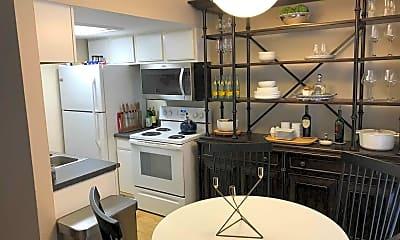 Kitchen, Sixth Street West Apartments, 2