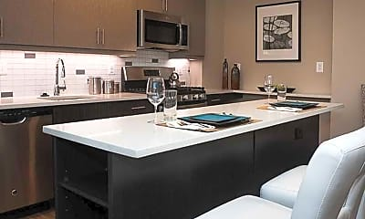 Kitchen, Embassy Tower Apartments, 0