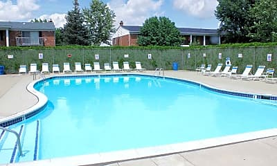 Pool, Fountain Park South, 1