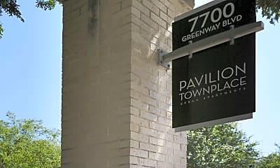 Community Signage, Pavilion Townplace, 2