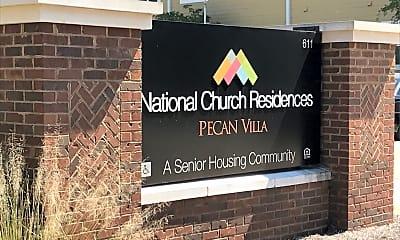 Pecan Villa Apartments, 1
