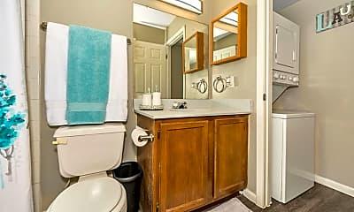 Bathroom, Pecan Ridge Apartments, 2
