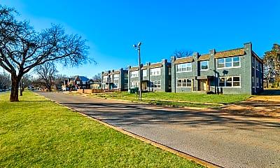 Building, Penn Oaks Quadplexes, 1