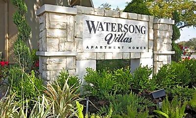 Community Signage, Watersong Villas, 2