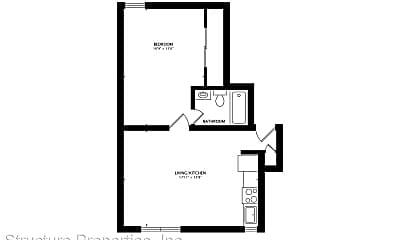 Living Room, 2224 Union St, 2