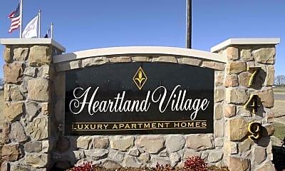 Community Signage, Heartland Village, 2