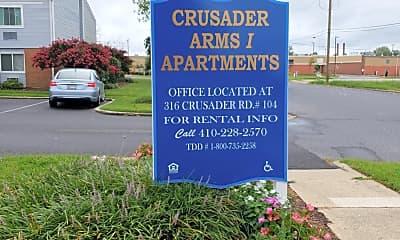 Crusader Arms Apartments, 1
