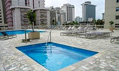 Pool, 445 Seaside Ave 2306, 2