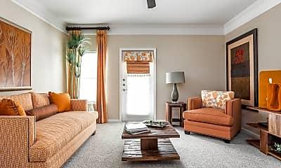 Living Room, Waterstone At Brier Creek, 1