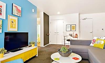 Living Room, Courtside Skybox, 2