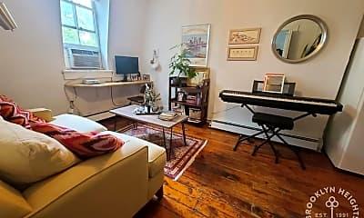 Living Room, 105 Bergen St 3R, 1