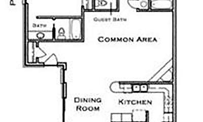 Bathroom, 2023 E Lone Wolf Ave, 2