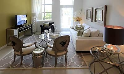 Living Room, The Manor in Plantation, 1