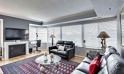 Living Room, 3101 N Hampton Dr 1104, 1