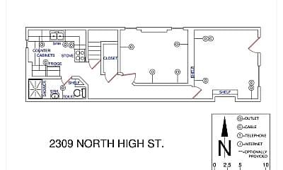 Bathroom, 2309 N High St, 2
