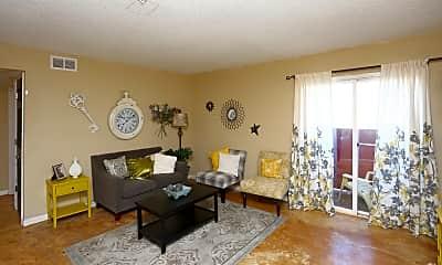 Living Room, 409 Tinker Diagonal St, 1